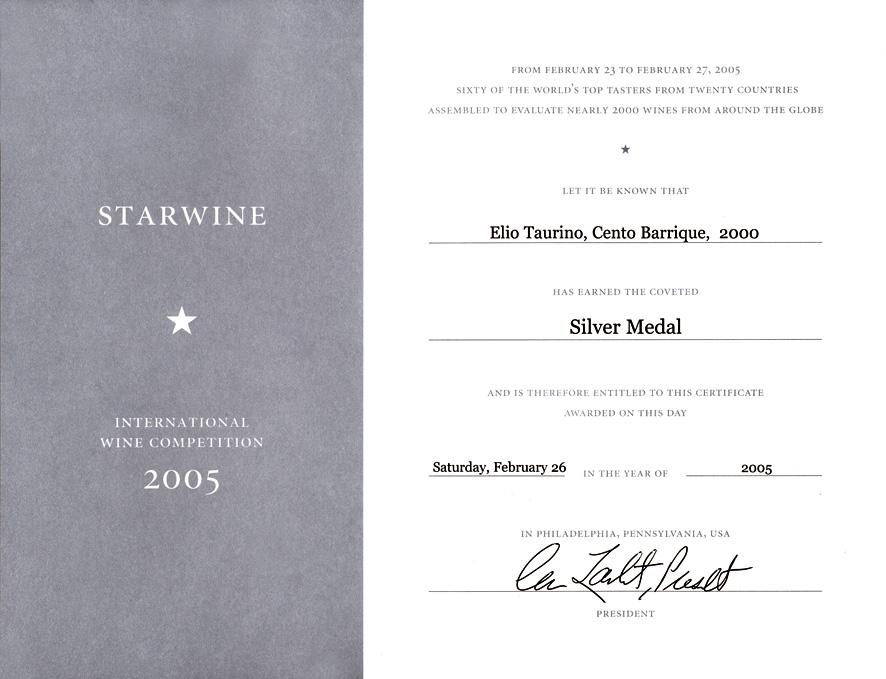 Starwine 2005