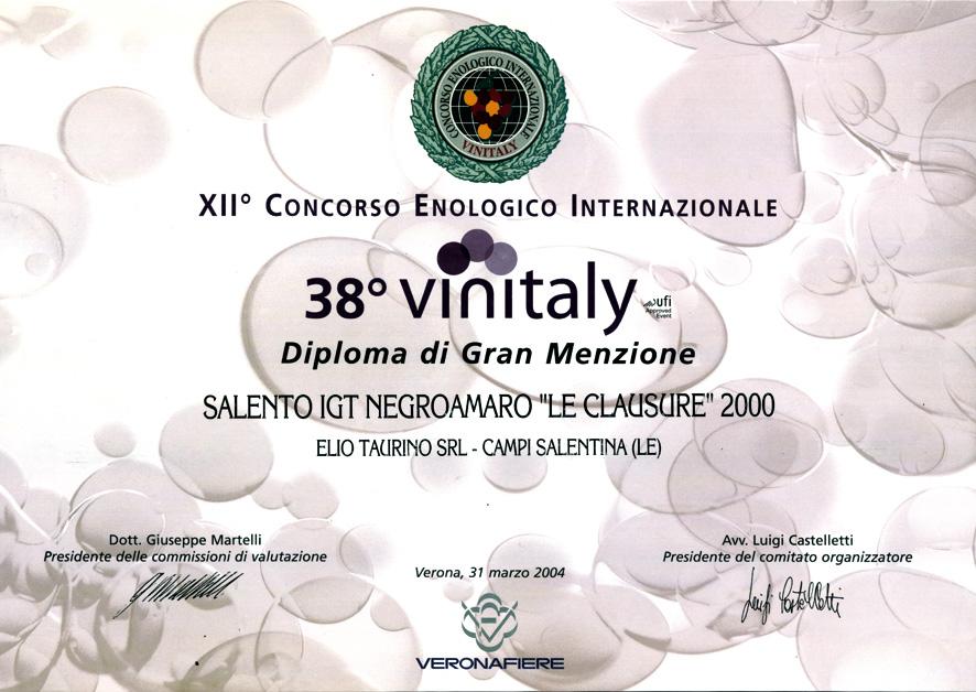 XII° Concorso Enologico Internazionale